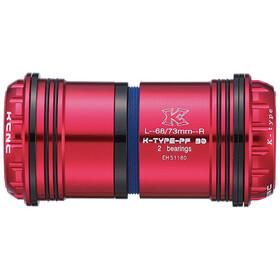 KCNC PF30 Road/MTB Pédalier, red